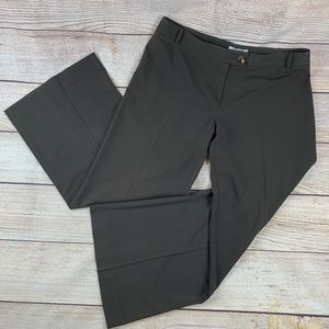 CAbi Wide Leg Lauren Trousers Pants 16 Gray EUC